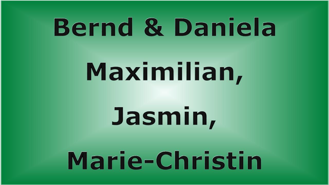 Bernd & Daniela