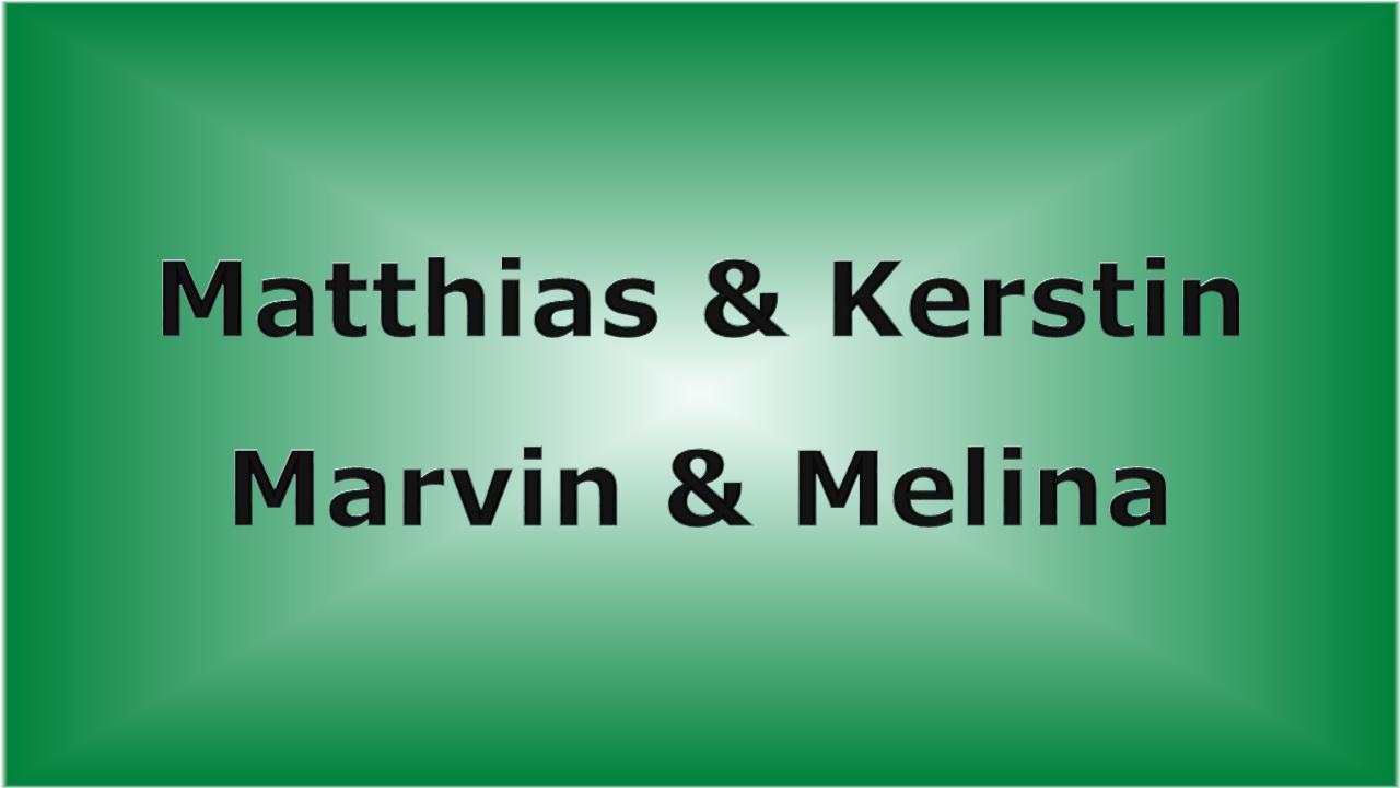 Matthias & Kerstin