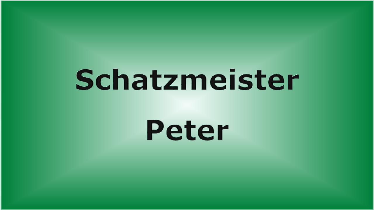 Schatzmeister Peter