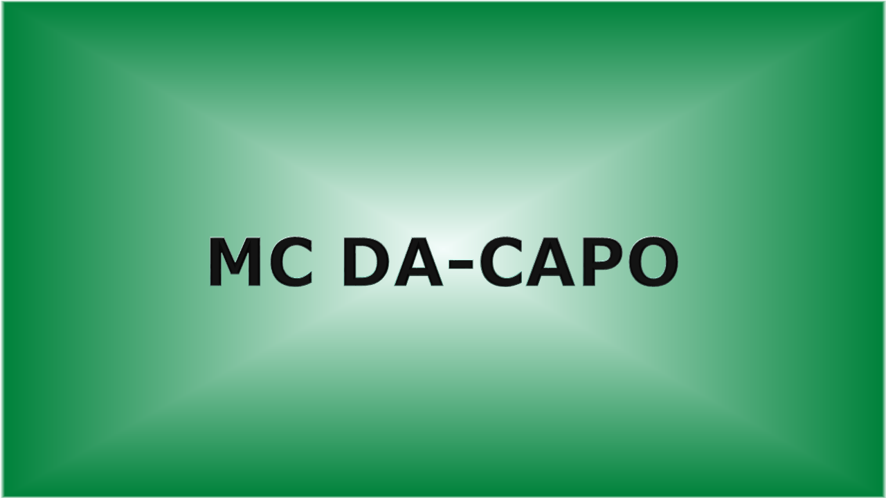 MC DA CAPO