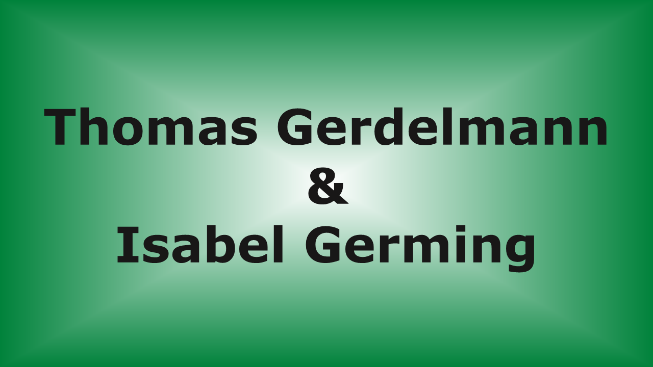 Thomas Gerdelmann & Isabel Germing