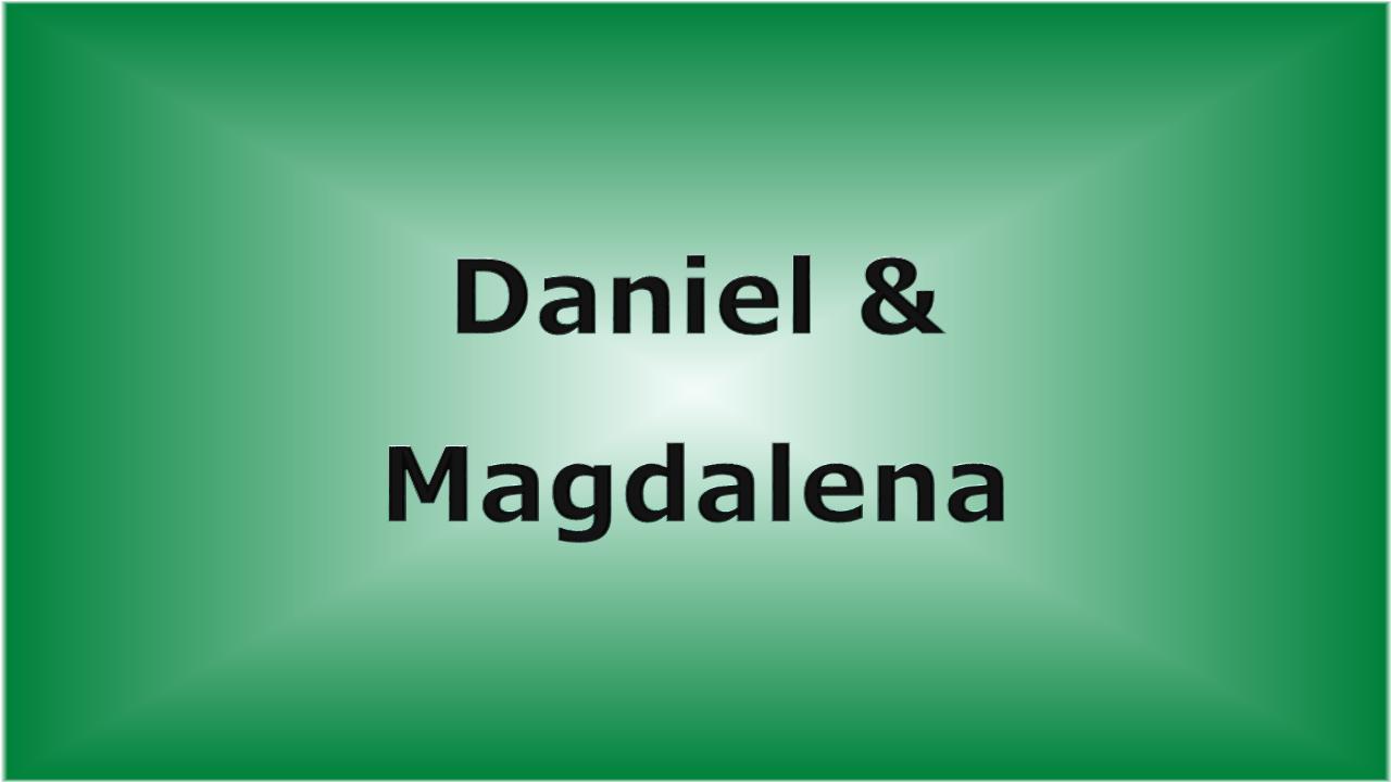 Daniel & Magdalena