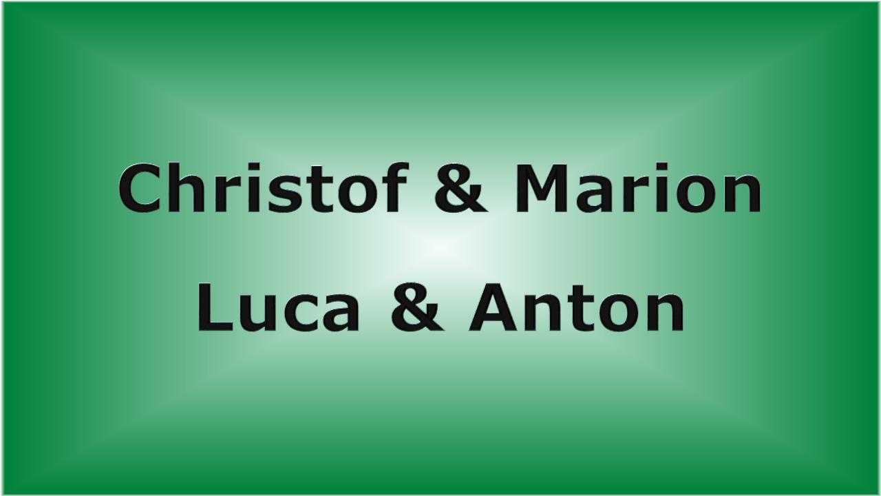 Christof & Marion