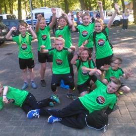 E-Jugend-Kicker wohnen historischem Triumph des SVM bei