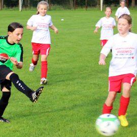 E-Jugend und Mädchenmannschaft kämpfen um die Medaillen